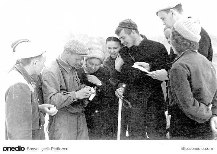 4-) Igor Dyatlov ve Zinaida Kolmogorova, 1956-57