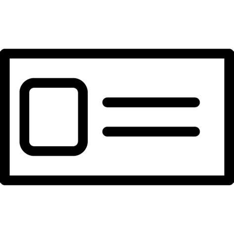 id card icon  iconset iconsmind