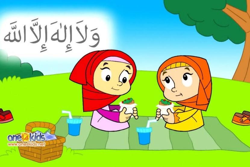 910 Koleksi Gambar Anak Sekolah Muslim Kartun HD Terbaru