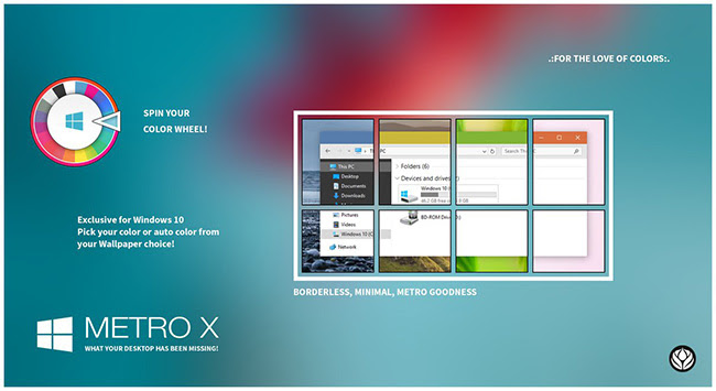 Bộ theme Windows 10 - Thay đổi giao diện máy tính tuyệt đẹp