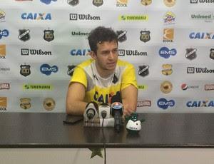 Ronaldo Mendes - meia do ABC (Foto: Carlos Cruz/ GloboEsporte.com)