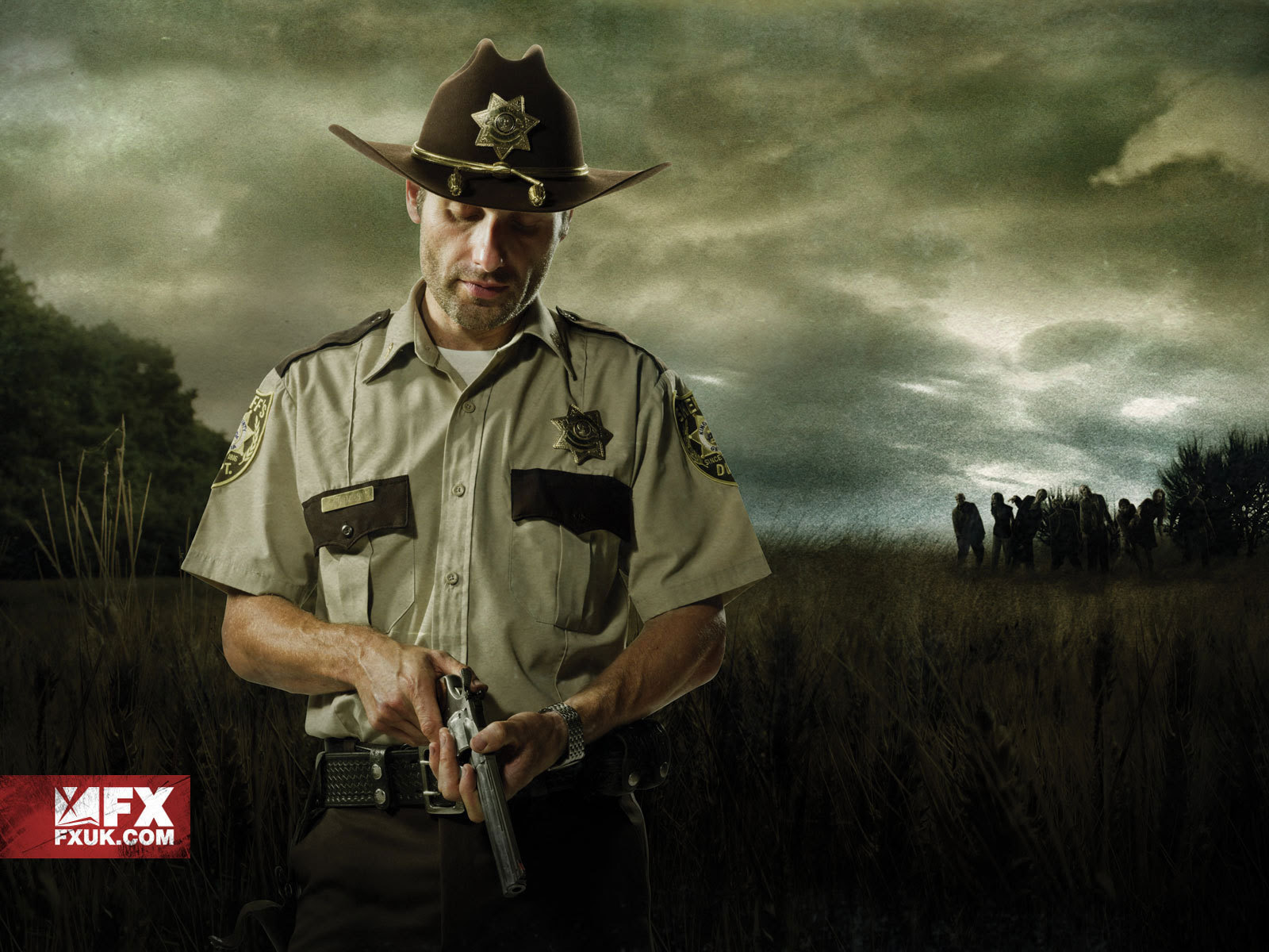 Walking Dead Rick Wallpaper 1600x1200 56808