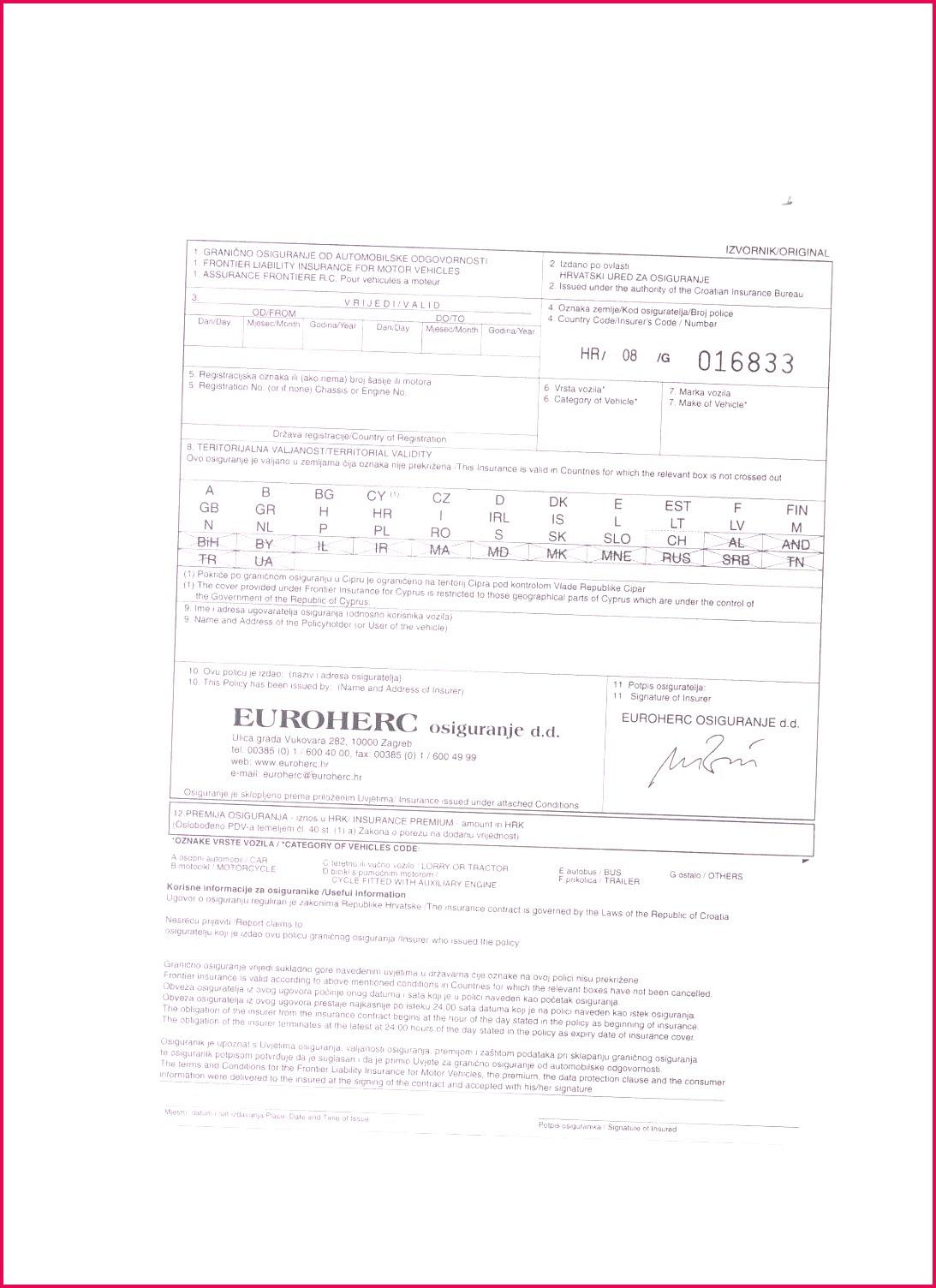 6 Acord Insurance Certificate Template 09710 | FabTemplatez