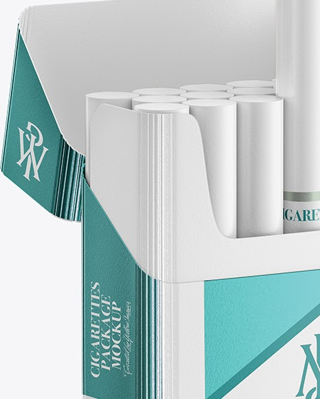 Download Download Cigarette Box Mockup Free PSD - Paper Cigarette ...