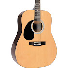 Rogue RG-624 Left-Handed Dreadnought Acoustic Guitar - Natural