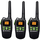 Motorola Talkabout MD200TPR 20-mile Two-way Radio 3 Pack - Black - FRS/GMRS