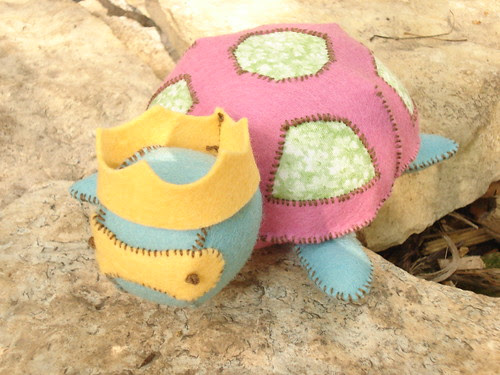 Hand Sewing for Fun Turtle