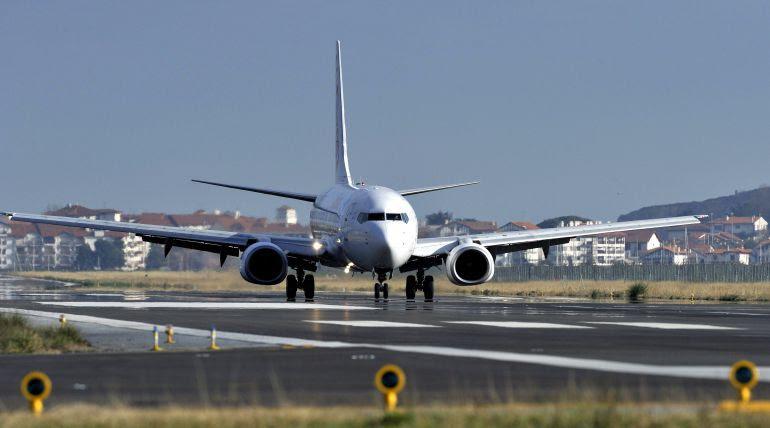 Aumentan un 22,4 % en agosto los pasajeros del aeropuerto de Hondarribia