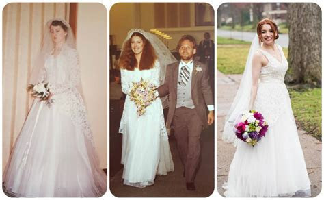 Why I Wore A Third Generation Wedding Dress ? Oh, Julia Ann