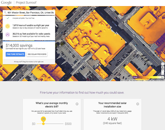 Solar curious? Google your roof