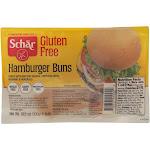 Schar Hamburger Buns - Case Of 6 - 10.6 Oz.