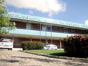 Delegacia Geral de Alagoas (Foto: Emerson Lima/Polícia Civil)