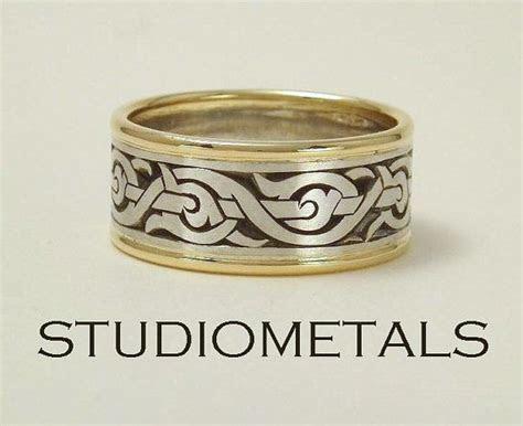 Men's Wedding Ring Nordic Ring Viking Ring Men's by
