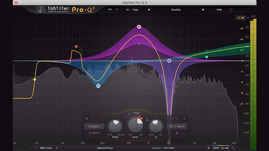 FabFilter Launches FabFilter Pro-Q 3 Equalizer Plugin with Dynamic EQ