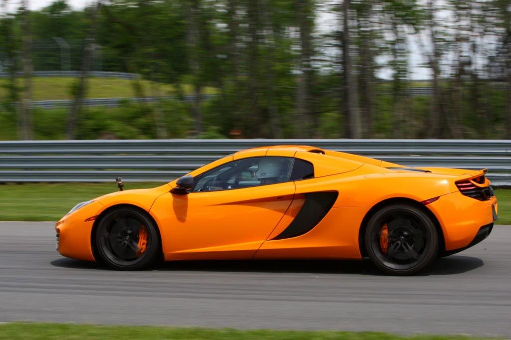 2013 McLaren MP412C Spider: Track Day