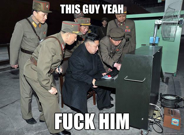 Imagini pentru Kim Jong-Un fuck him