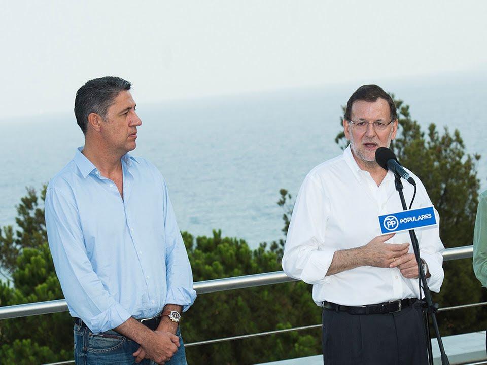 Rajoy y García Albiol, o como NO hacer amigos en Cataluña