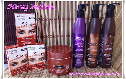 Niraj Indian cosméticos