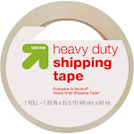 Heavy Duty Shipping Tape - Up&Up , Size: 1ct, Clear
