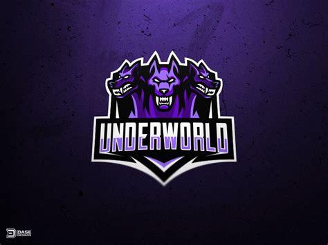 underworld esports cerberus mascot logo underworld  logos