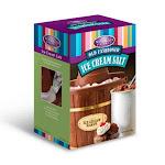 Nostalgia Rocksalt4lb Old Fashioned Rock Salt Ice Cream Maker, 4 Lbs