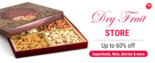 Superfoods, Nuts and Berries Strike a Healthy Diwali Note on Snapdeal