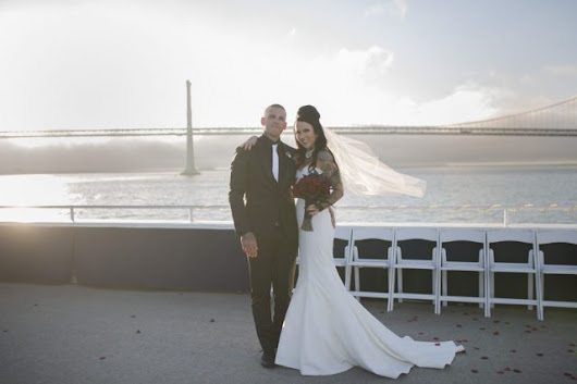 Classic Rock n Roll Wedding with a Nautical Edge