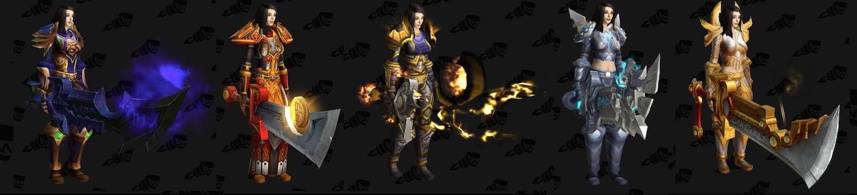 Legion Beta question: Belf female weapon sizes : wow