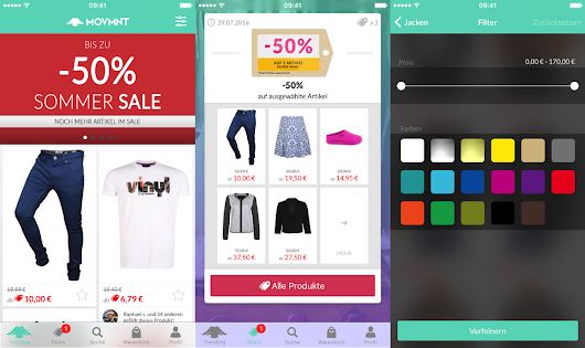 Zalando's Movmnt Gets iPhone App and Website, but the Latter Without Shopping Cart