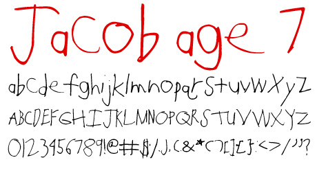 click to download Jacob Age 7