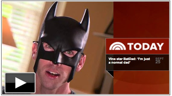 BatDad protects suburbs from bad manners in amazing Vines - TODAY.com