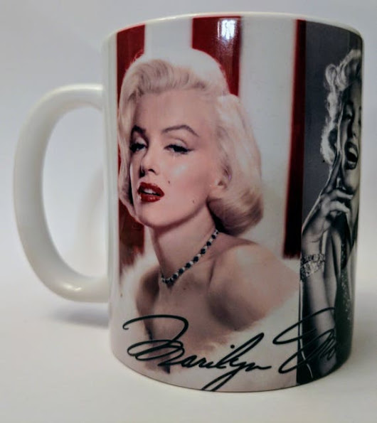 Marilyn Monroe coffee mug Marilyn Monroe coffee cup MM The
