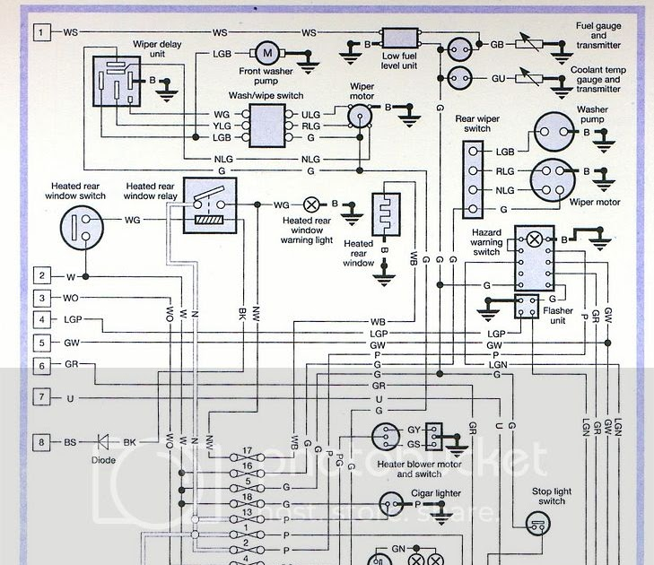 Land Rover 110 Wiring Diagram