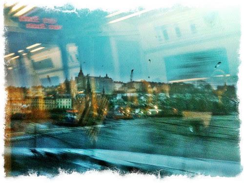 en dag då stockholmslivet är som en psykedelisk tavla