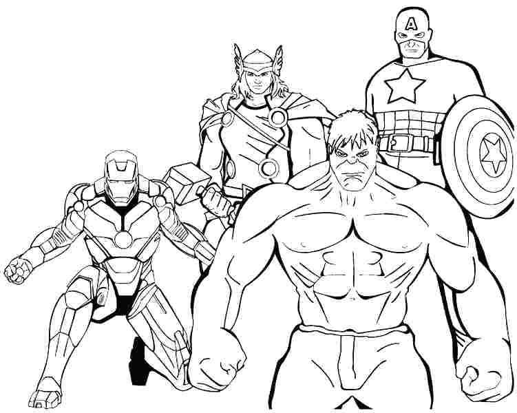 Marvel Avengers Boyama Sayfası 54 Adet