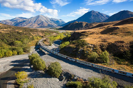 The TranzAlpine Express: New Zealand's most scenic rail journey