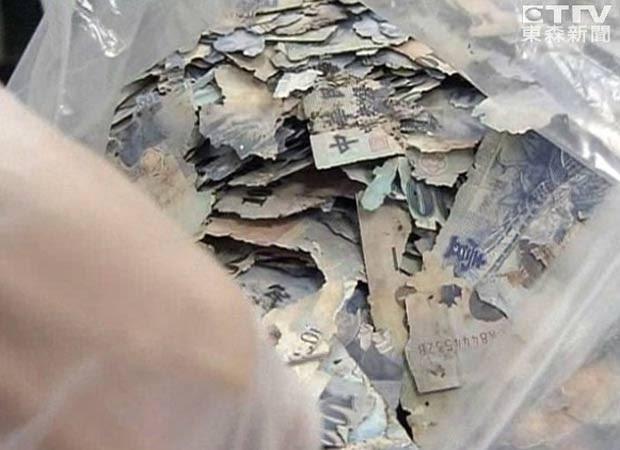 Jovem guardava dinheiro acumulado em oito anos de trabalho. (Foto: Reprodução)