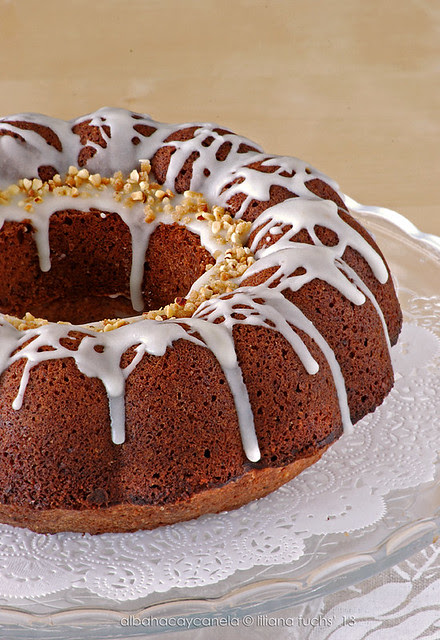 Hazelnut orange bundt cake