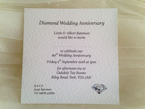 Square Wedding Anniversary Invitations