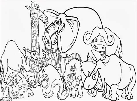 animals coloring pages   print