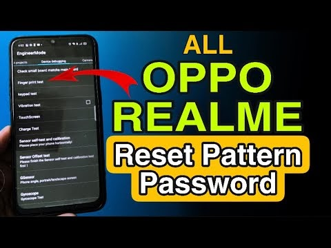 Oppo Vivo Realme Password Lock remove in just 2 minutes without Computer