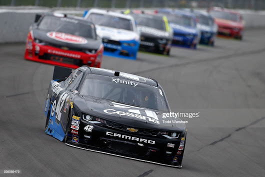 Kyle Larson Wins Rain Shortened XFINITY Series Race