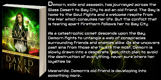 Demorn: Soul Fighter by David Finn