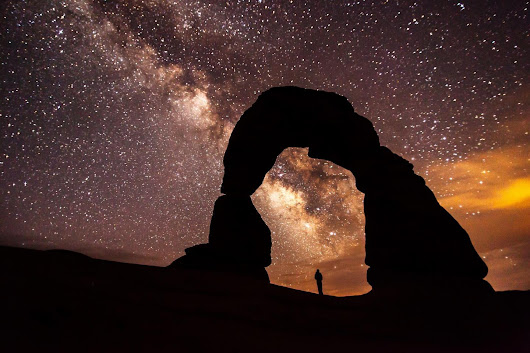 Dark, star-filled skies draw visitors to national parks, survey finds