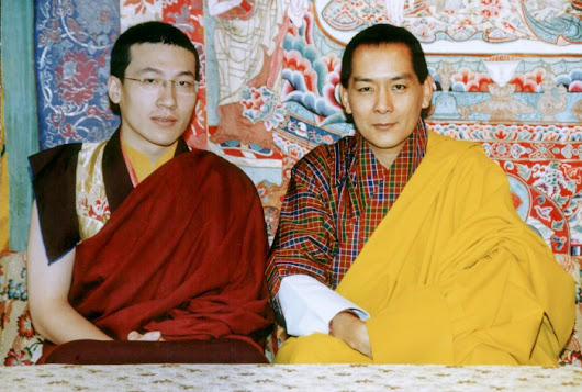 The Birthday of King Jigme Singye - The 17th Karmapa: Official website of Thaye Dorje, His Holiness the 17th Gyalwa Karmapa