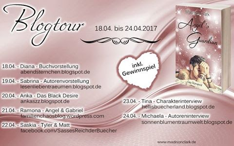 [Blogtour] Madison Clark – Angel's Guardian – Vorstellung von 3 Charakteren (Gabriel, Angel & Sean)