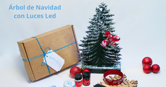 Árbol de Navidad con Luces Led - Tutorial | Kits de Manualidades | We Make DIY