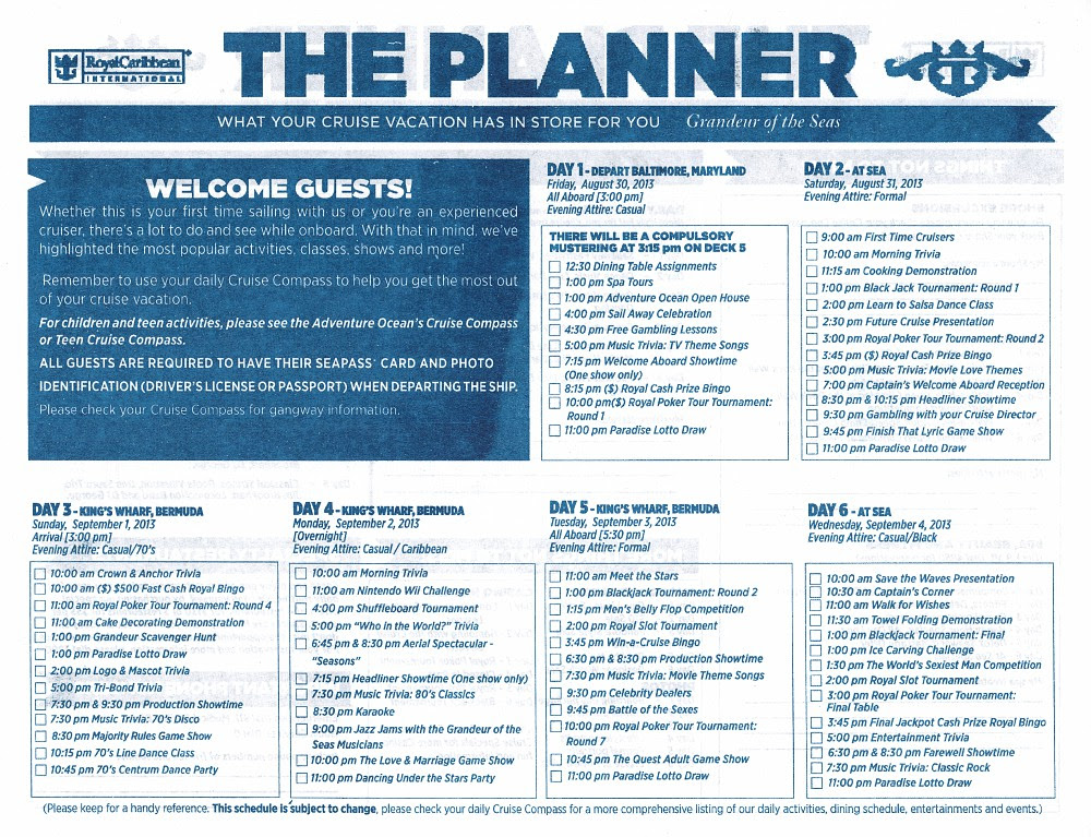 """LIVE"""" from Grandeur of the Seas - Aug 30, 2013 - Page 24 - Cruise ..."""