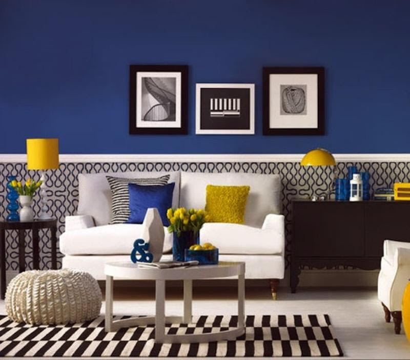 Yellow Living Room Ideas Navy Blue Grey Black Grey And Yellow ...