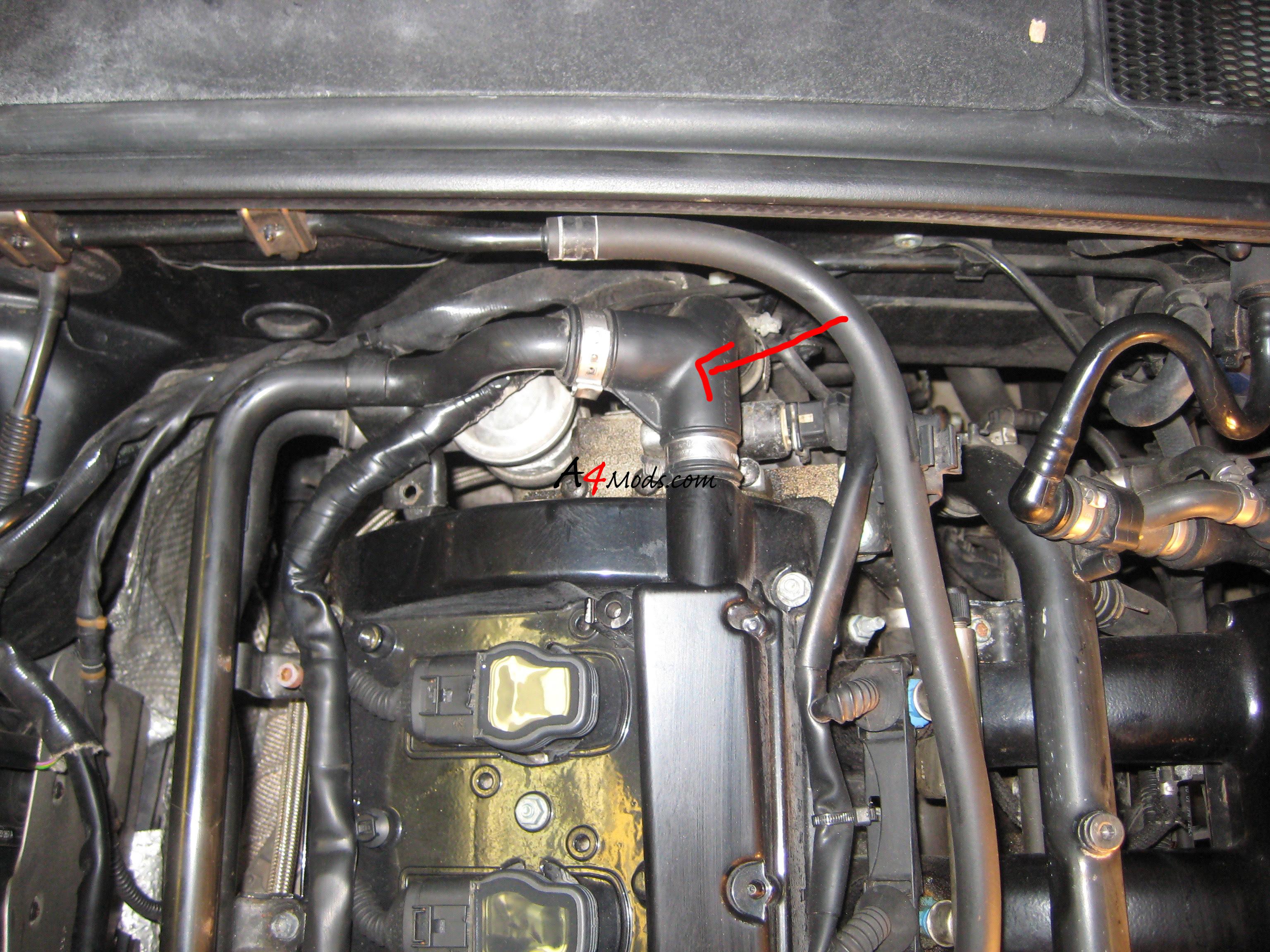 Audi A4 A4 Passat 2001 2000 2001 2002 2003-2005 Genuine Vw//Audi Coolant Flange